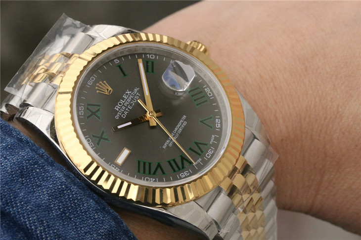 Replica Rolex Datejust II Wrist Shot 2