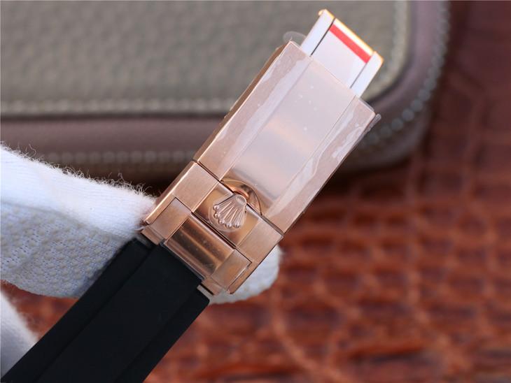 Replica Rolex Daytona Rose Gold Buckle