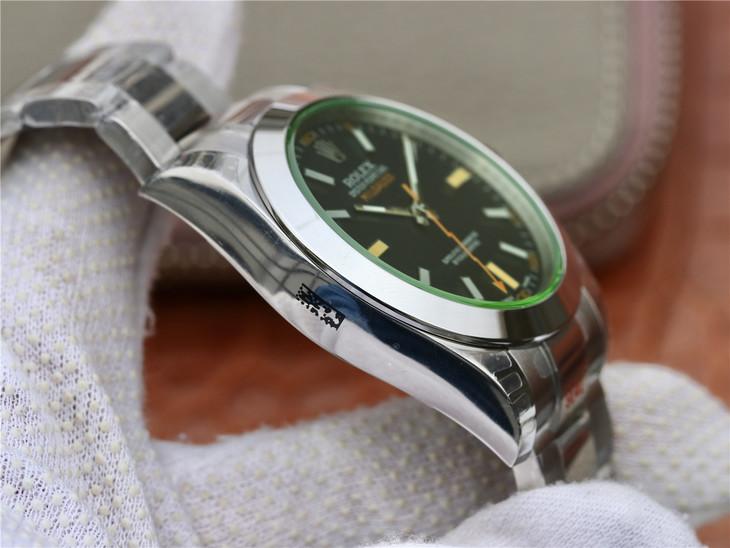 Replica Rolex Milgauss 904L Case