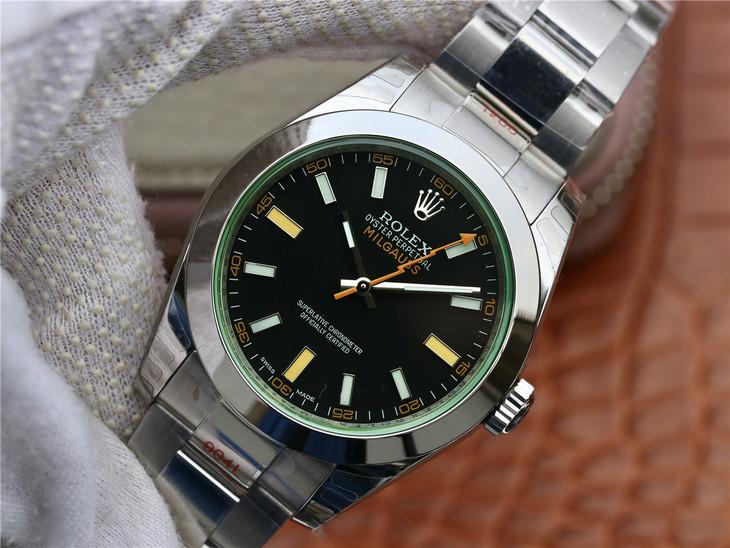 Replica Rolex Milgauss Green Sapphire