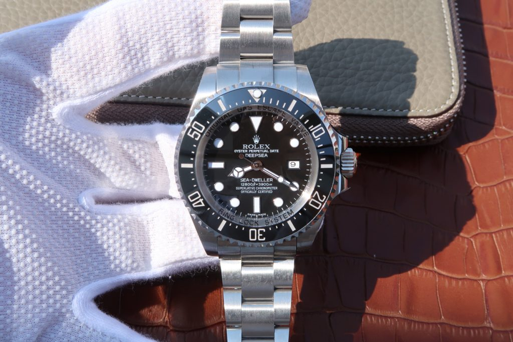Replica Rolex Sea-Dweller Deepsea Black