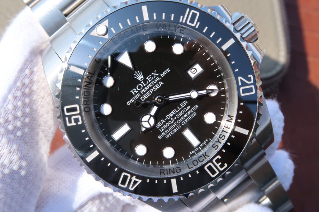 Replica Rolex Sea-Dweller Deepsea Black Dial
