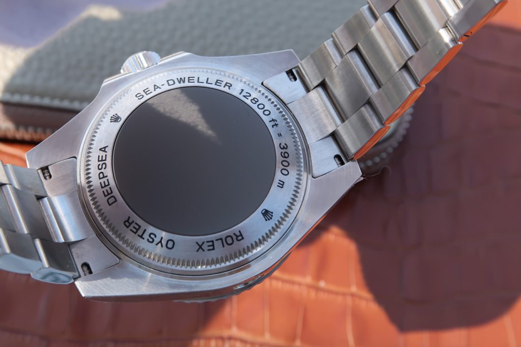Replica Rolex Sea-Dweller Deepsea Case Back