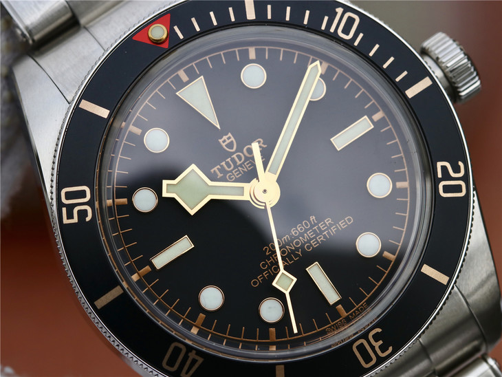 ZF Replica Tudor Black Bay Black Dial
