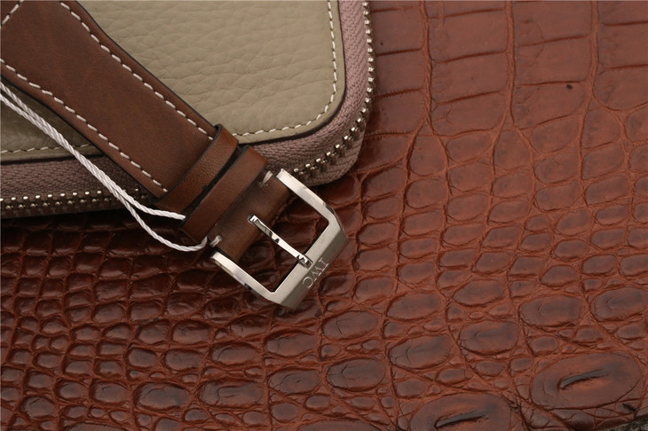 IW377714 Brown Leather Strap