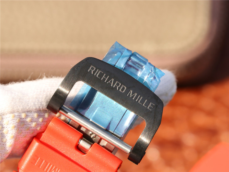 RICHARD MILLE Engravings on Buckle