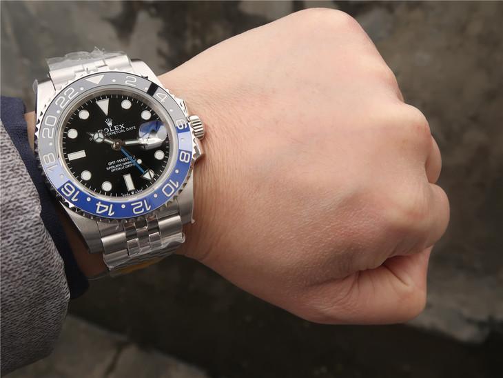 Replica Rolex 126710 Wrist Shot