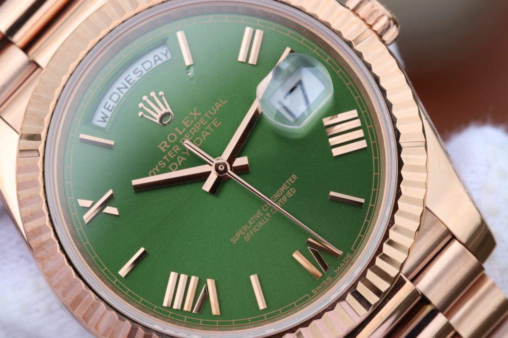 Replica Rolex Day Date Green Dial