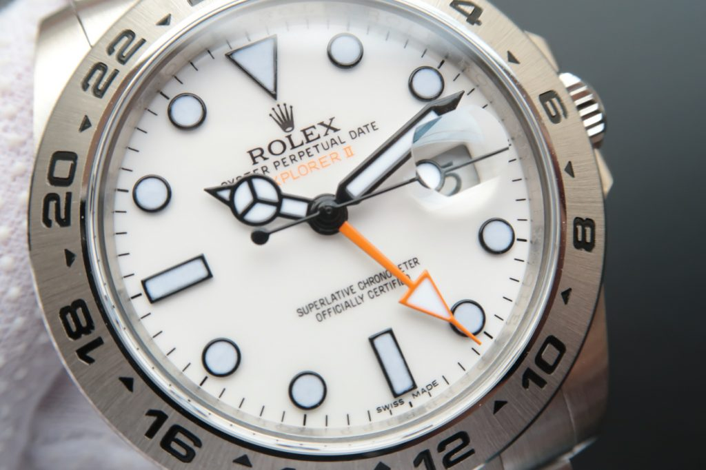 Replica Rolex Explorer White Dial