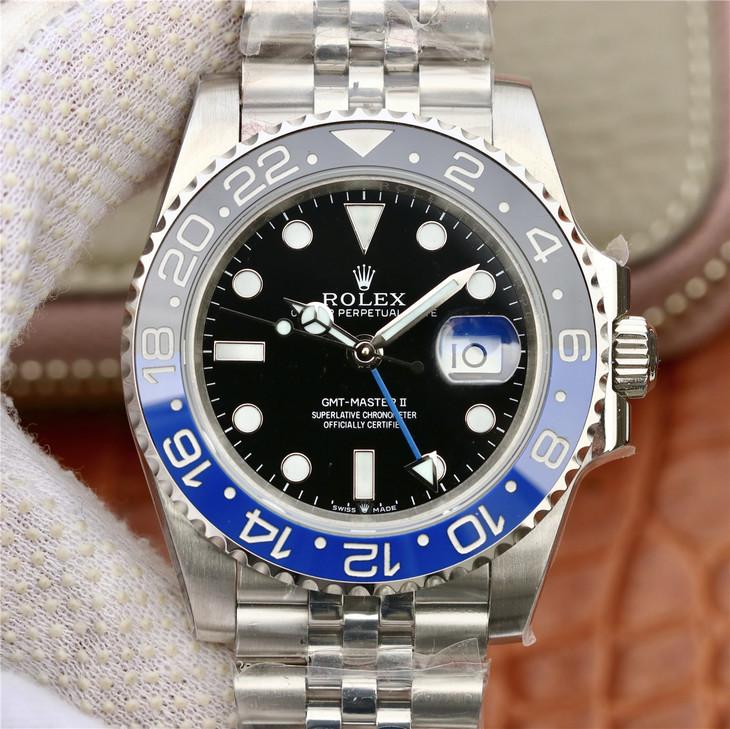 Replica Rolex GMT-Master II 126710 BLRO