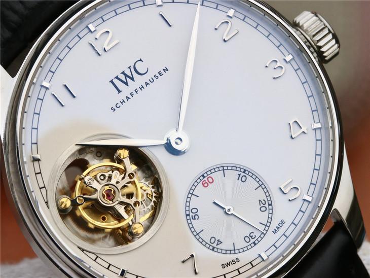 IWC Portuguese Tourbillon White Dial