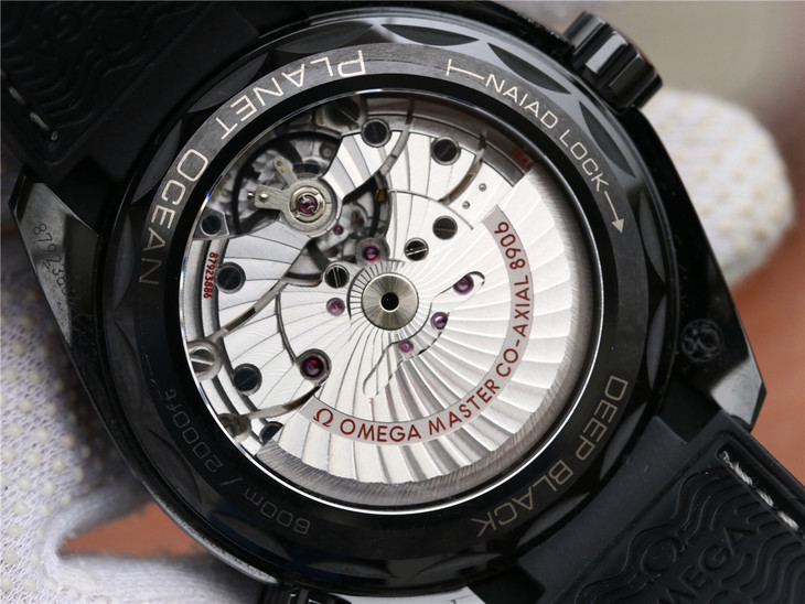 Omega Deep Black Crystal Back