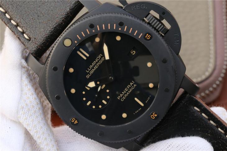 PAM 508 Black Dial