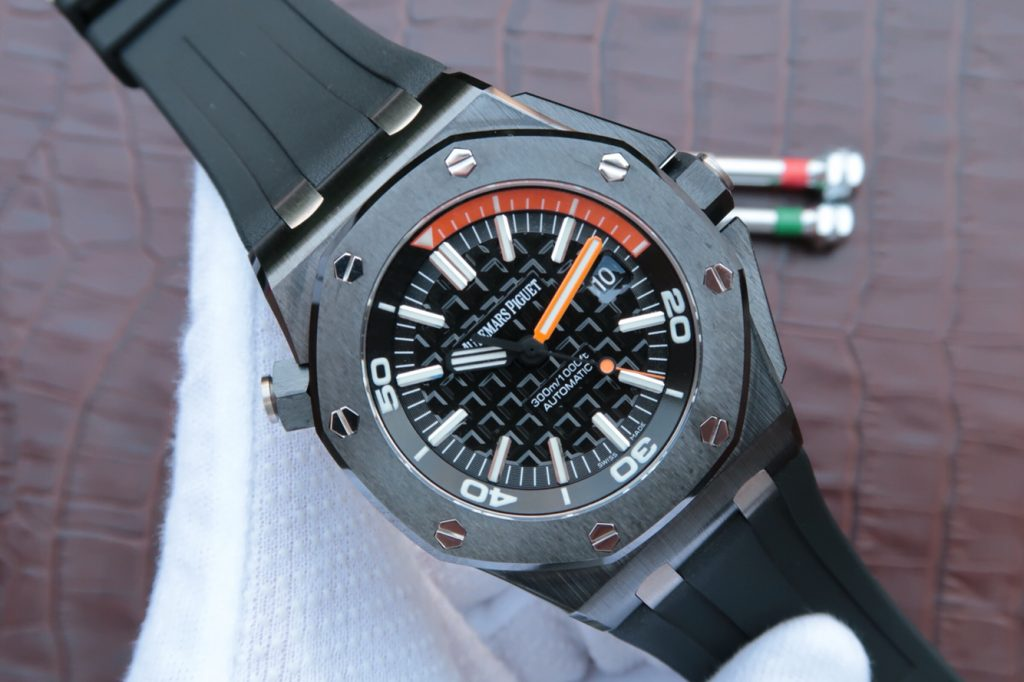 Replica Audemars Piguet Royal Oak Diver Orange