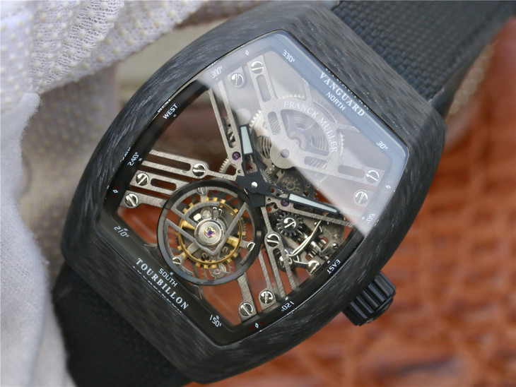 Replica Franck Muller Vanguard Carbon