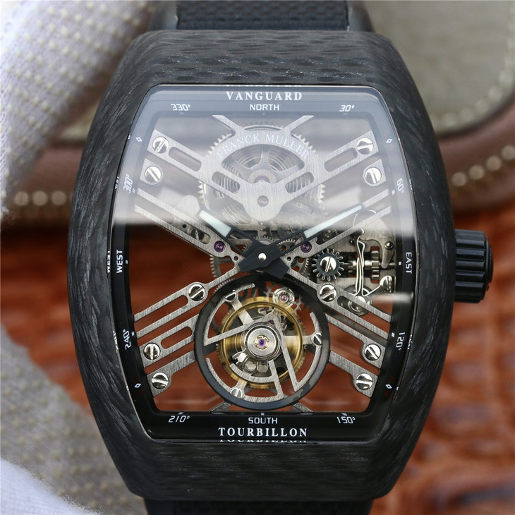Replica Franck Muller Vanguard Tourbillon
