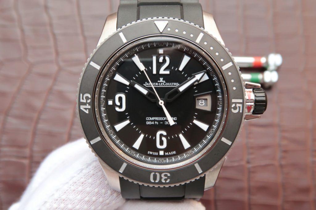 Replica Jaeger LeCoultre Black Dial