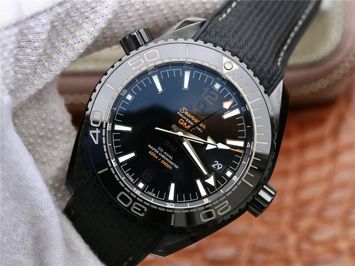 Replica Omega Planet Ocean Deep Black