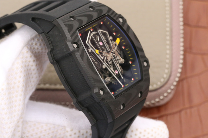 Replica Richard Mille Forged Carbon Case