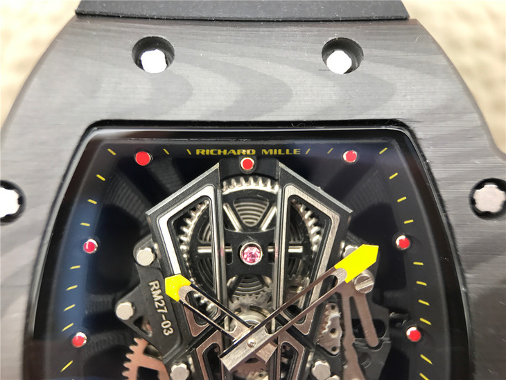 Replica Richard Mille Skeleton Dial 1