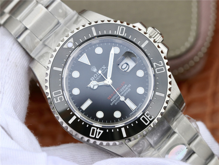 Replica Rolex Sea-Dweller 126600 Single Red