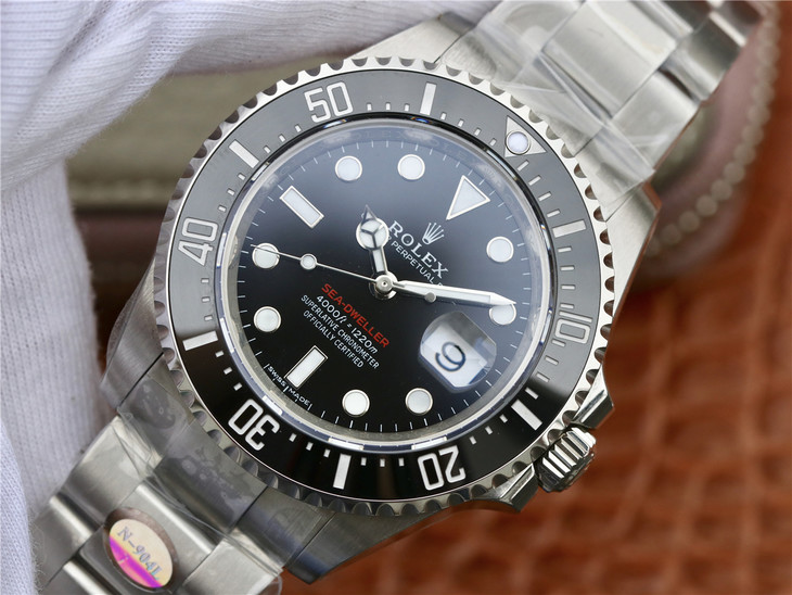 Replica Rolex Sea-Dweller 126600 from Noob