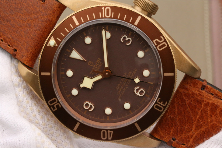 Replica Tudor Brown Dial