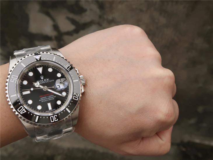 Rolex Sea-Dweller 126600 Wrist Shot