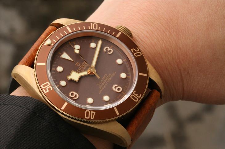 Tudor Bronzo Wrist Shot