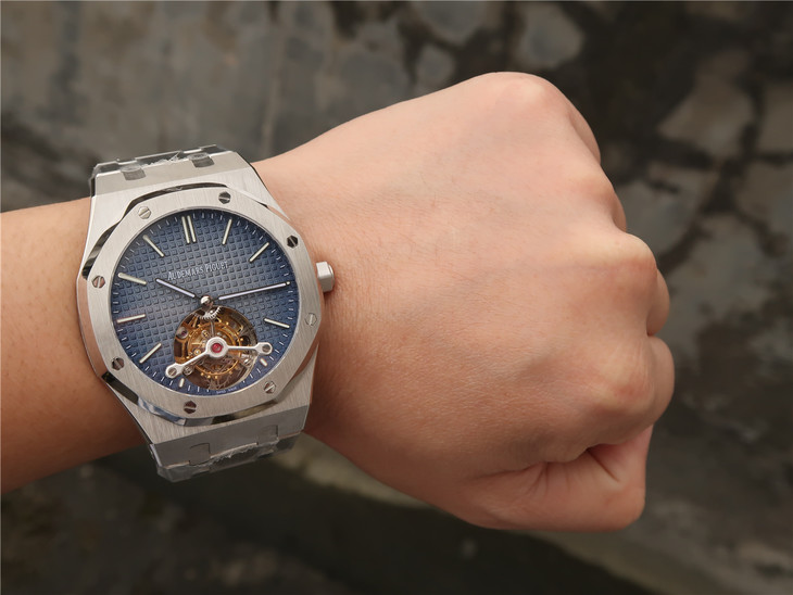 Audemars Piguet Royal Oak Tourbillon Wrist Shot