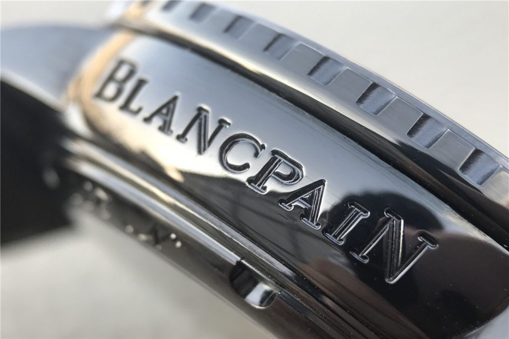 BLANCPAIN Engraving Close-up