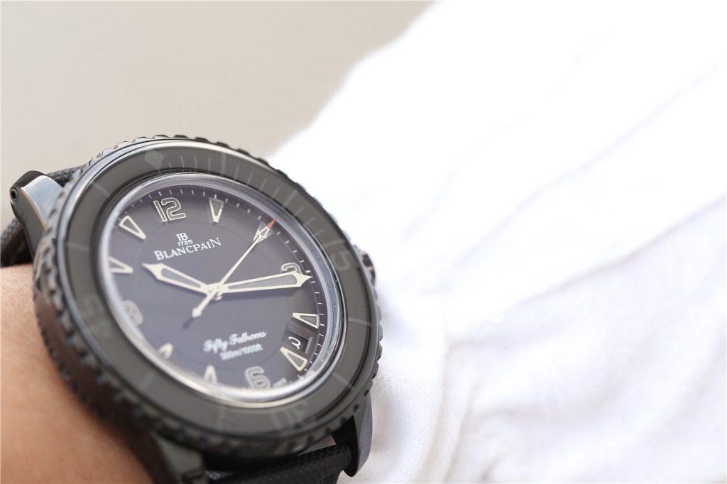 Blancpain Dark Knight Wrist Shot