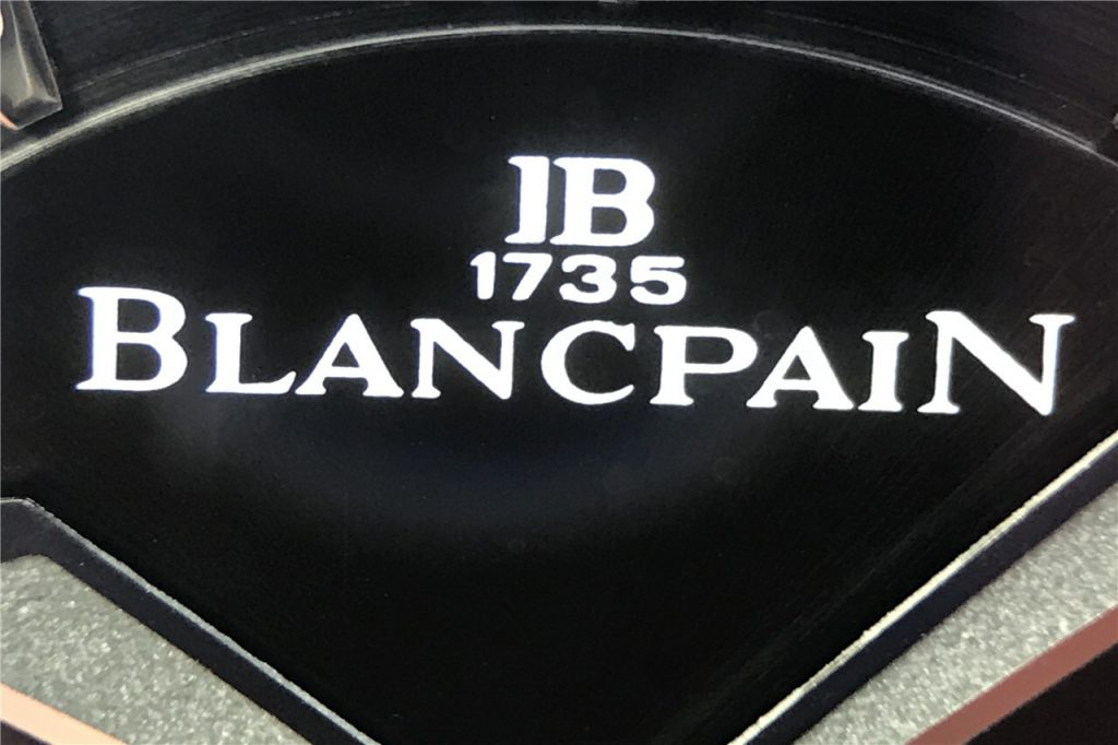 Blancpain Logo on Dial