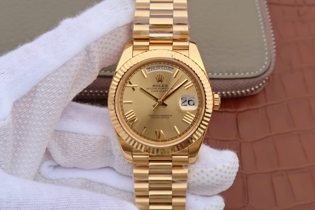 CR Factory Replica Rolex Day-Date