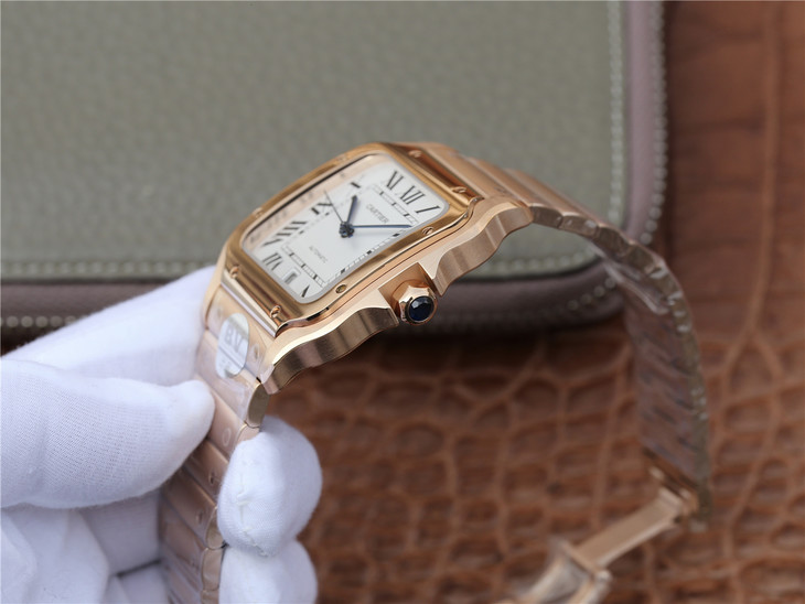 Cartier Santos 100 XL Crown