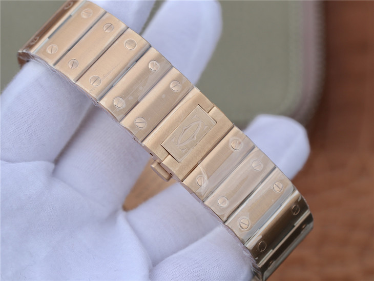 Cartier Santos 100 XL Rose Gold Bracelet