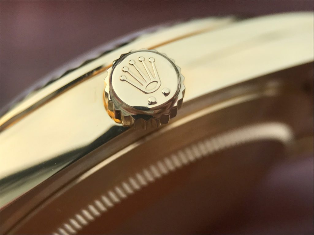 Crown Logo on Rolex Crown