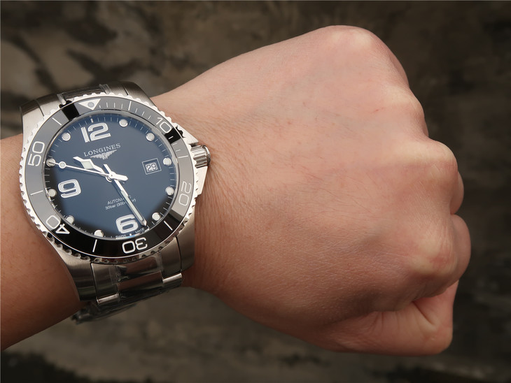 Longines Conquest Diver Watch Wrist Shot