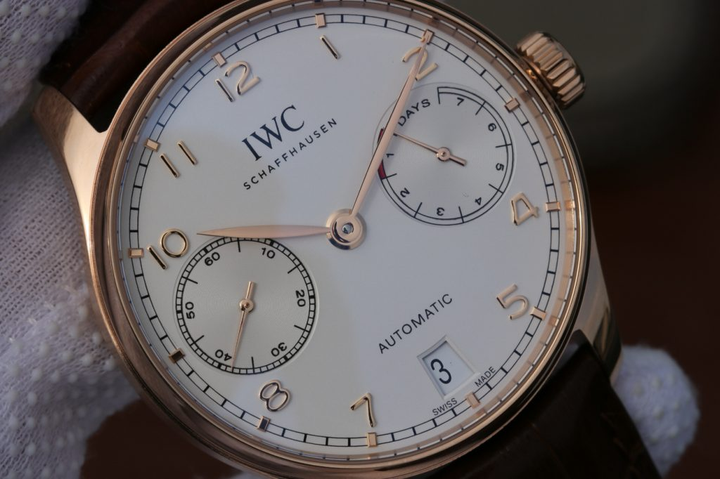 Replica IWC Portuguese 7 Days Power Reserve IW500701