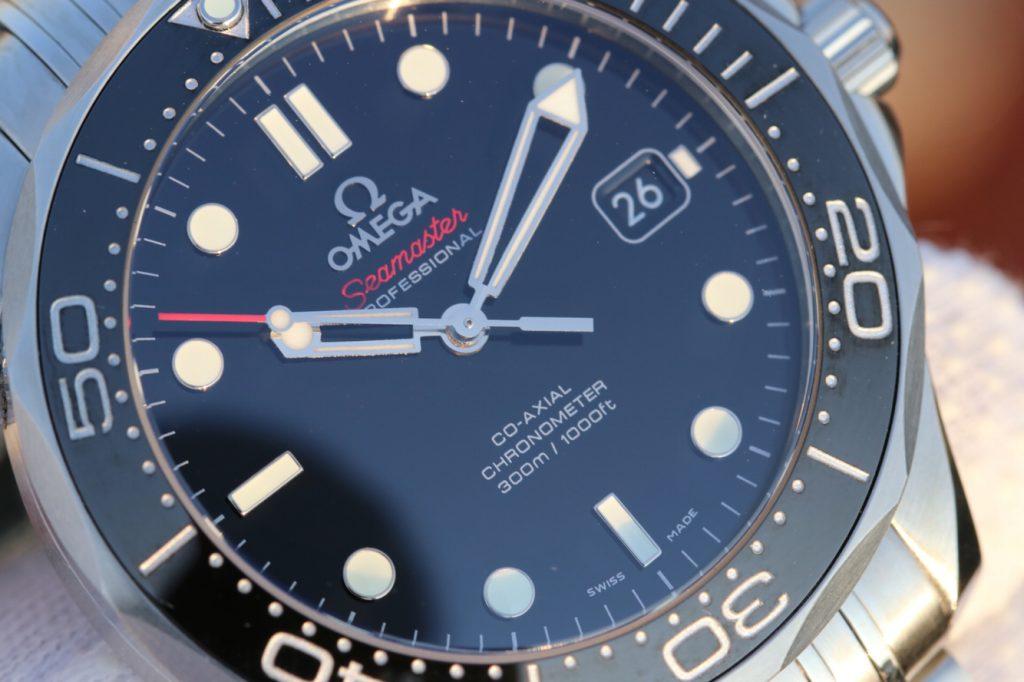 Replica Omega Seamaster Black Dial