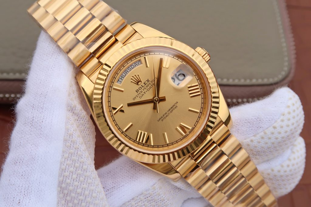 Replica Rolex Day-Date 40mm Yellow Gold