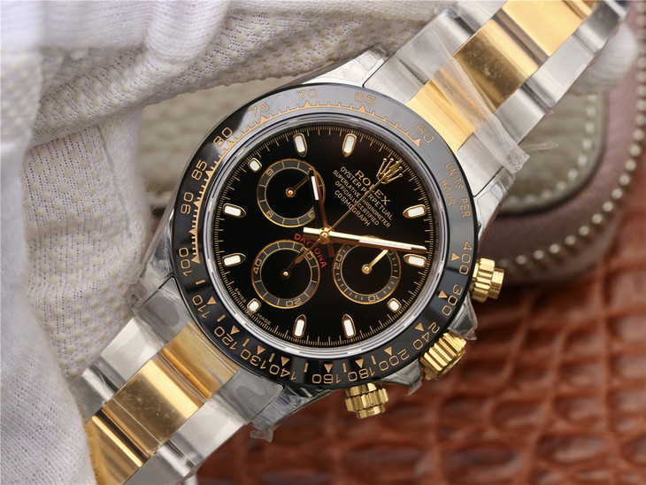 Replica Rolex Daytona Two Tone Ceramic