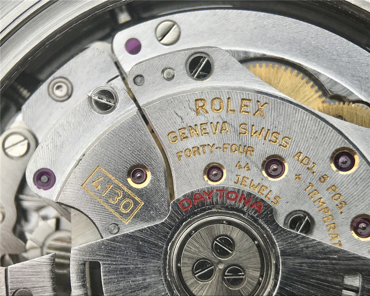 Rolex Clone 4130 Golden Seals