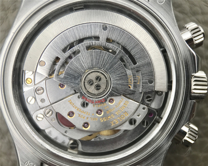 Rolex Clone 4130 Movement Decoration