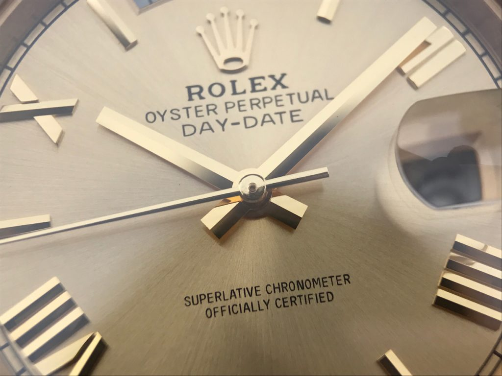 Rolex Day-Date 40mm Golden Hands