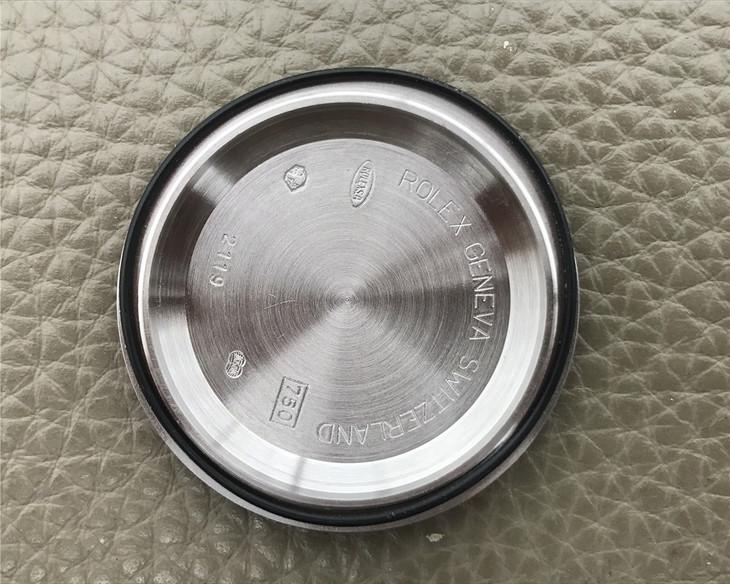 Rolex Daytona Case Back Inner Engravings