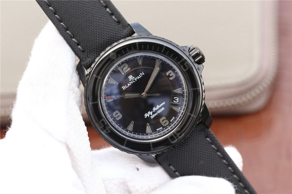 ZF Replica Blancpain Fifty Fathoms Dark Knight