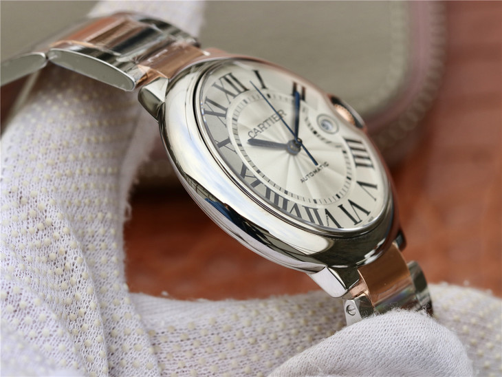 Cartier Ballon Bleu Steel Case