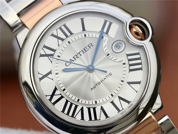 Cartier Ballon Bleu White Dial