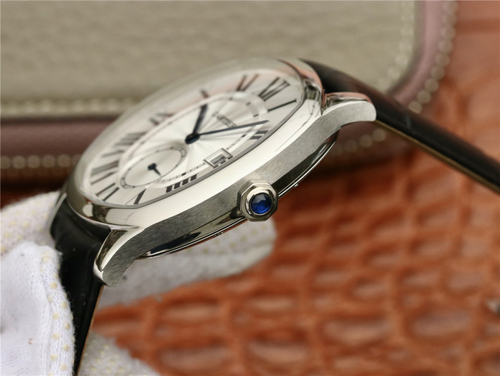 Cartier Drive Sapphire Crown